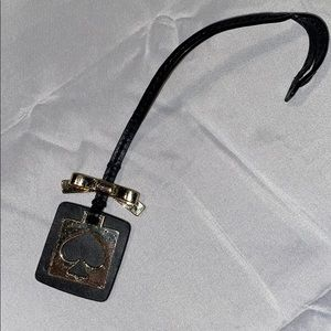 Authentic Kate Spade Gold & Black Keychain